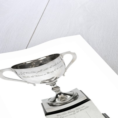 Worcester' v 'Conway' boat race trophy by W. Neale & Sons Ltd.