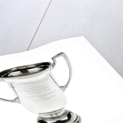 Silver trophy presented to HMMV 'Winchester Castle', 1931, by Amy Johnson, the aviator (1903-1941) by Searle & Co. Ltd.