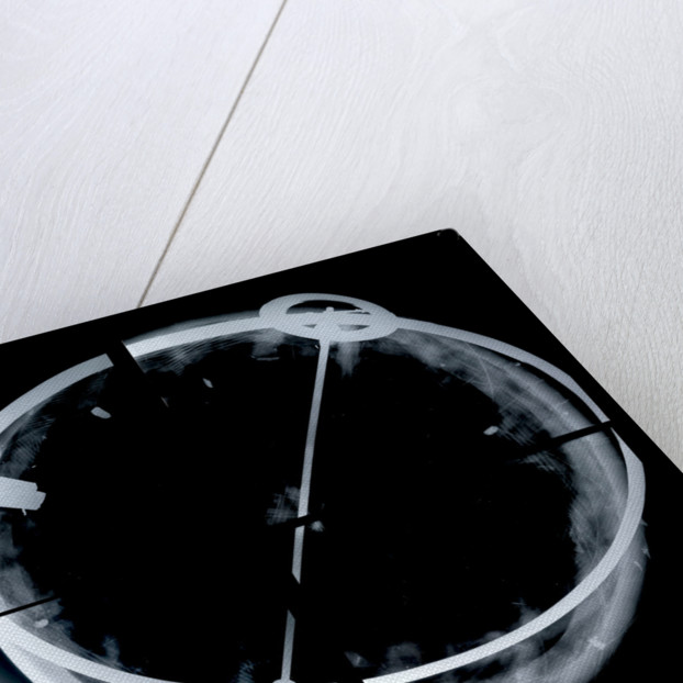 Globe x-ray by Vincenzo Coronelli
