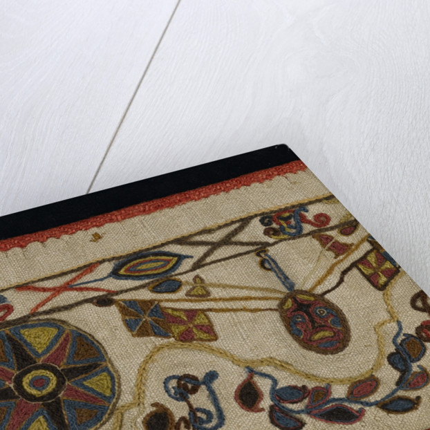 Detail of a valence by unknown