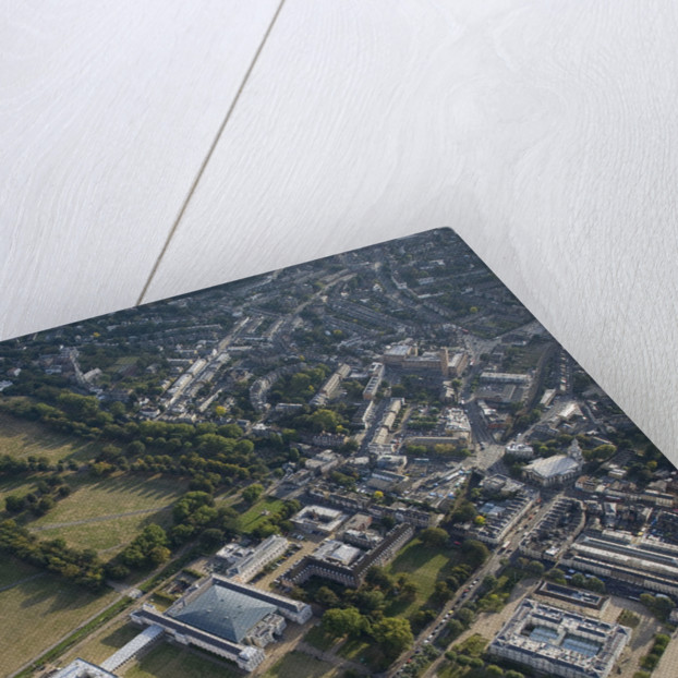 Aerial view of National Maritime Museum and Queen's House, Greenwich by National Maritime Museum