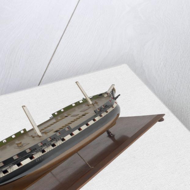 50-gun frigate HMS 'Vernon' (1832) by unknown