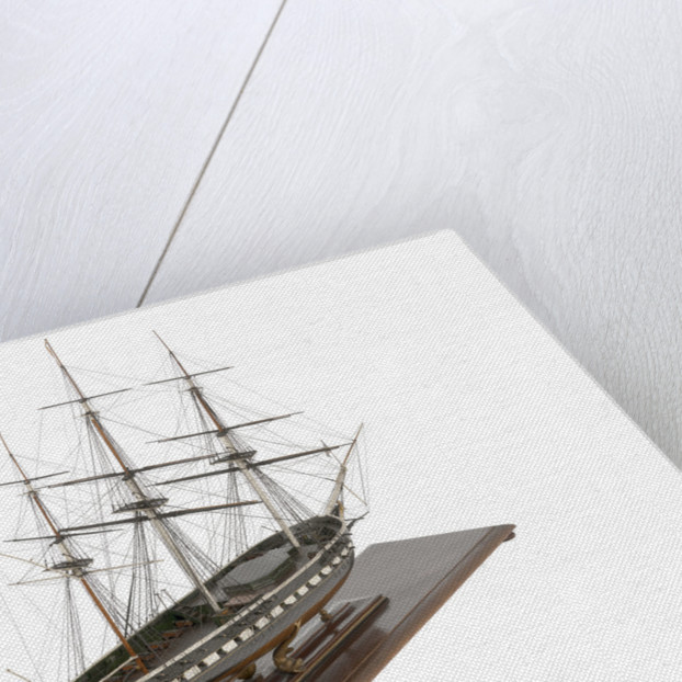 Miniature frigate 'Royal Adelaide' (1834) by unknown