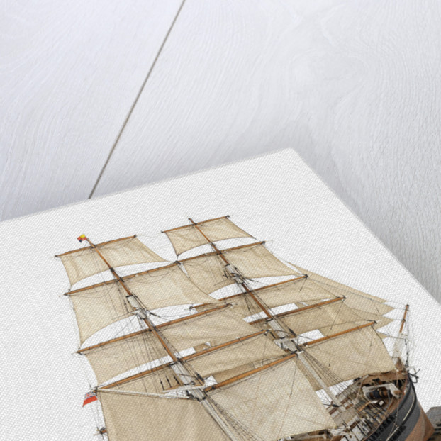 Sailing brig 'Marie Sophie' (1879) by Max T. Davey