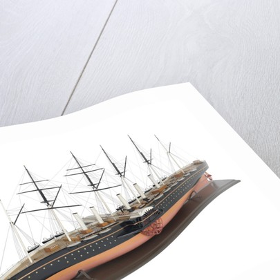 Painted model of 'Great Eastern' (1858) by unknown
