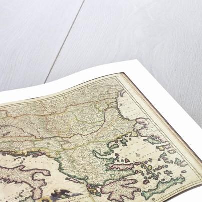 Justus Danckers's atlas: Hungary and Greece by Justus Danckers