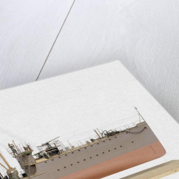 Model of destroyer HMS 'Boyne' (1904) by unknown