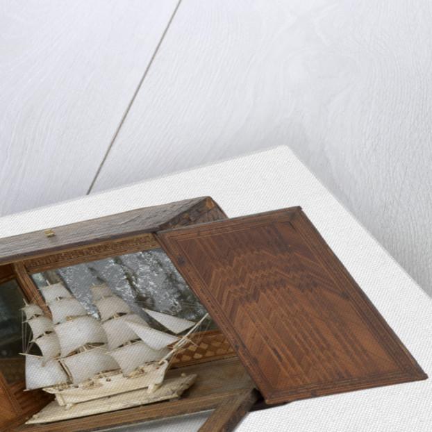 French prisoner of war model of 12-gun sloop (1800) by unknown