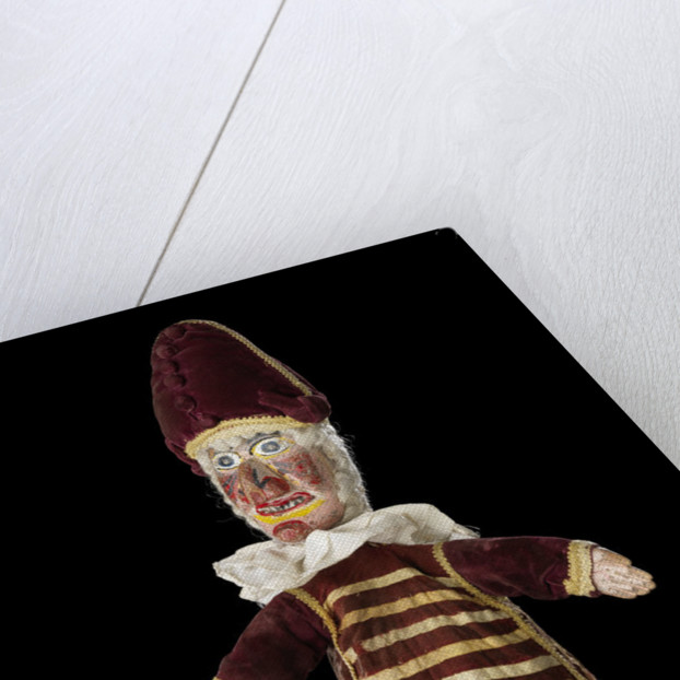 Puppet, part of Punch and Judy set by unknown