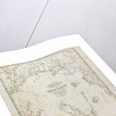 Hydrographical chart of the Arctic regions by William Scoresby