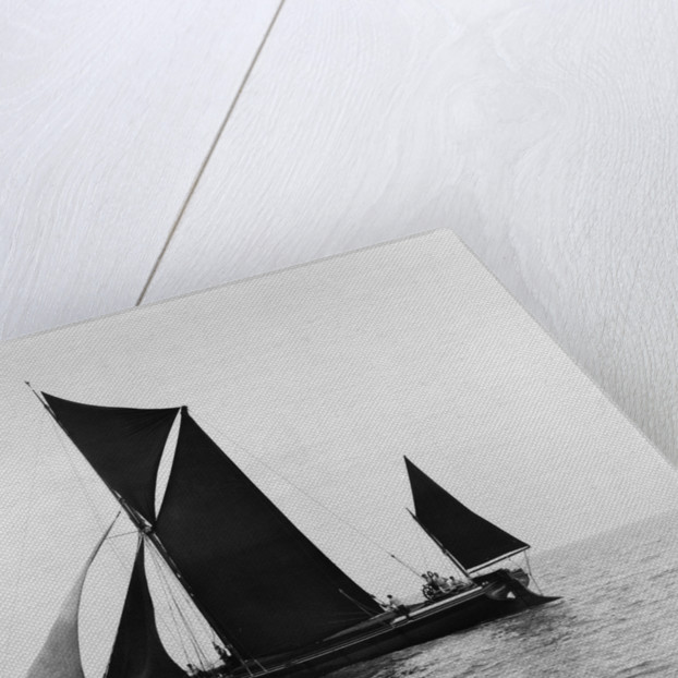 Sailing barge 'Veronica' (Br, 1906) under sail by unknown