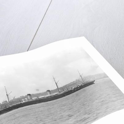 Passenger liner 'Teutonic' (Br, 1889), Oceanic Steam Nav Co Ltd (White Star Line) by National Maritime Museum