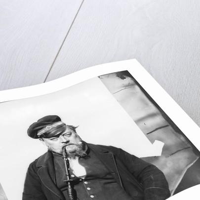 Man with a hookah by Edward Augustus Inglefield
