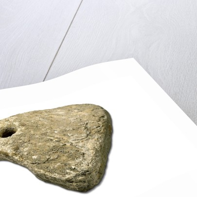 Roman stone anchor by unknown