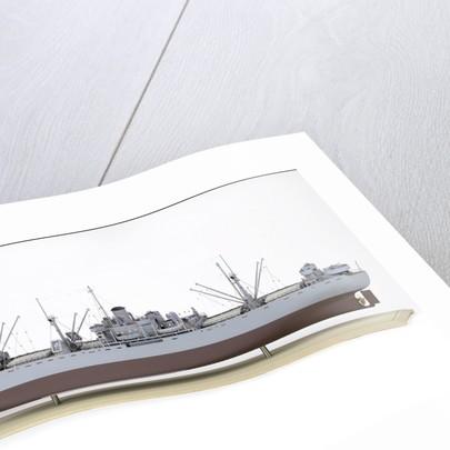 'A J Cassatt', port stern quarter by John R. Haynes