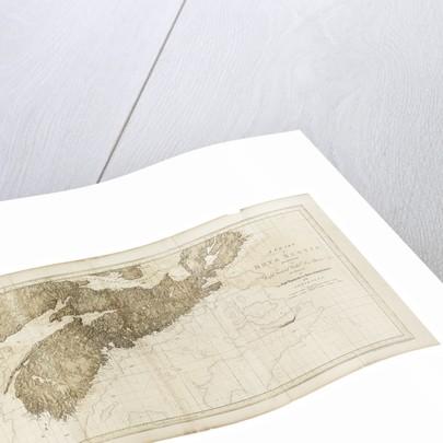 A chart of Nova Scotia by Joseph Frederick Wallet Des Barres