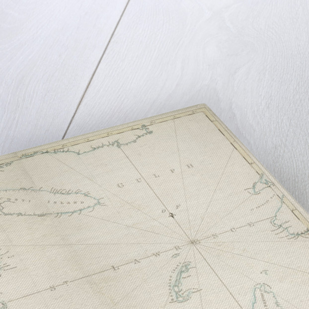 Map of the Gulf and River of St Lawrence by Joseph Frederick Wallet Des Barres