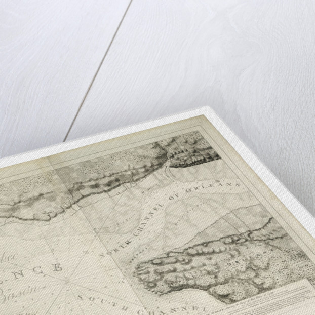 A plan of Quebec and environs with its defences by J. F. W. Des Barres