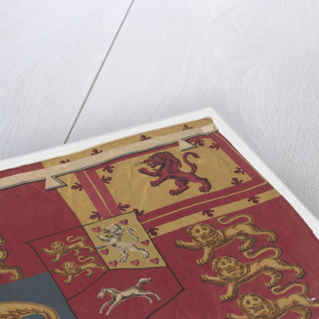 Prince of Wales's Standard (1801-1820) by unknown