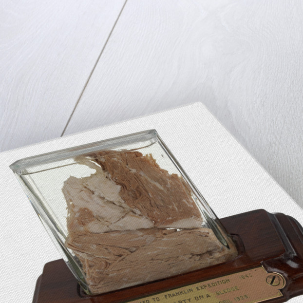 Meat sample from Sir John Franklin's last expedition 1845-1848 by unknown