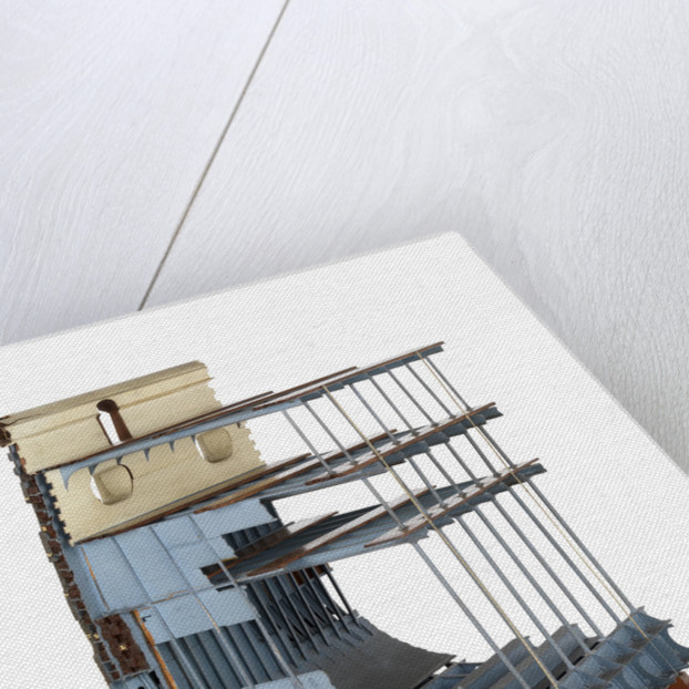 Half midship section model of HMS 'Warrior' (1860) by unknown