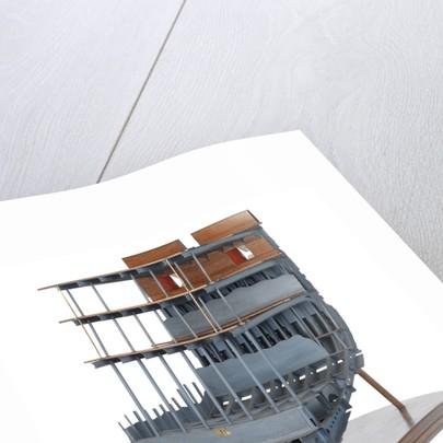 Midship sectional model of HMS 'Warrior' (1860) by unknown