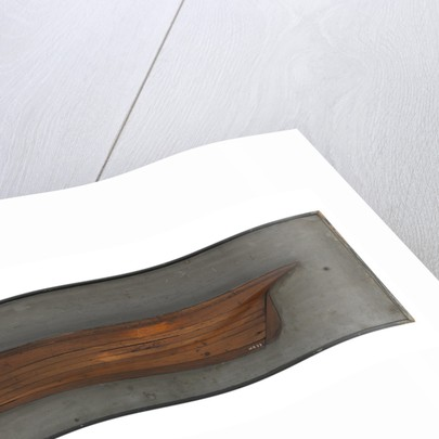 Model of a cutter by unknown