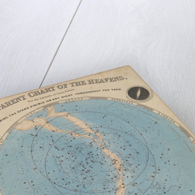 Chart of the heavens by James Reynolds
