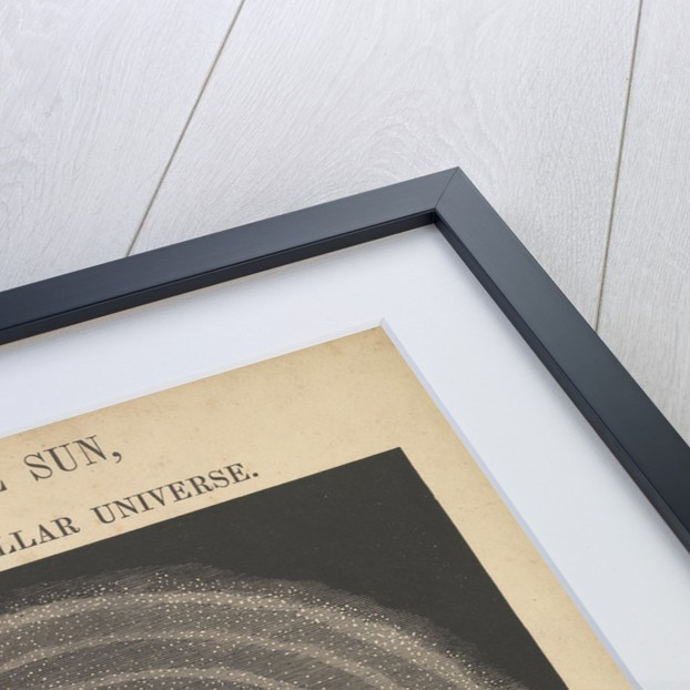 The central sun and the theory of the stellar universe (backlit) by James Reynolds