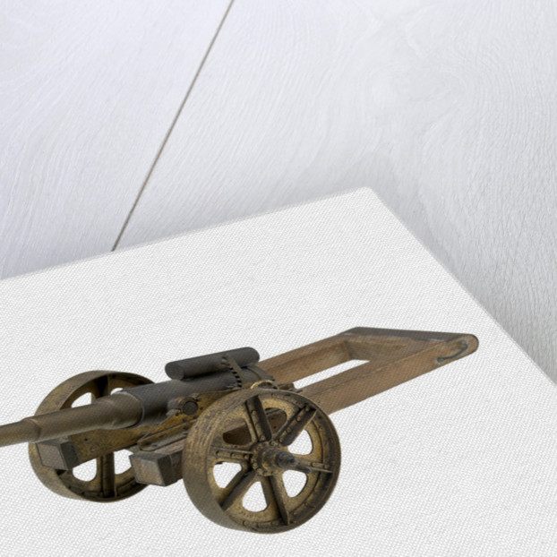 Gun model; Field Gun by unknown