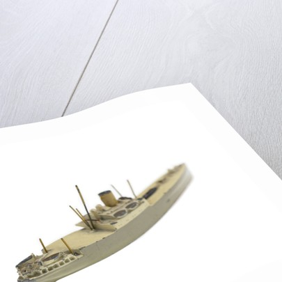 Waterline model; Miniature model by Tring