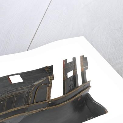 Sectional model; Stern model; Waterline model by unknown