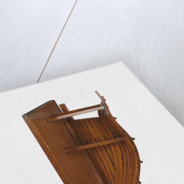 Sectional model; Bow model; Frame model; Plank-on-frame by Robert Seppings