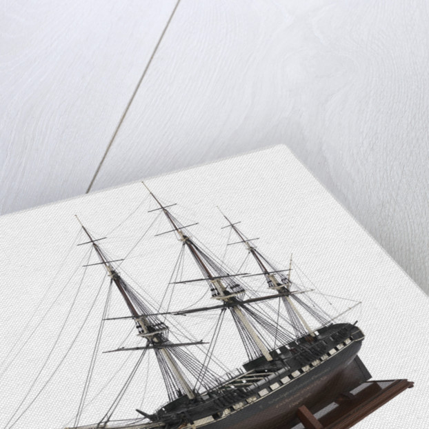 Warship, frigate 38 gun 'Seahorse' (1794) by unknown