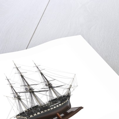 The warship, frigate 38 gun 'Seahorse' (1794) by unknown