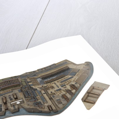 A togographical model of HM Dockyard Plymouth as it appeared in 1774 by Plymouth Dockyard Personnel
