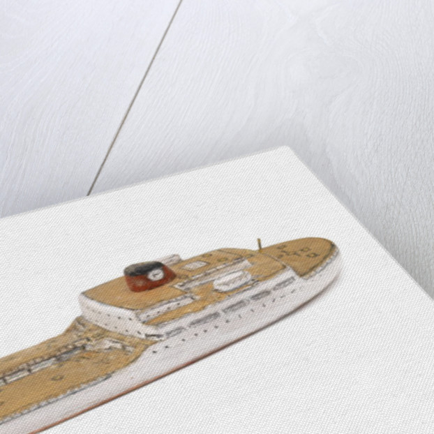 'Tina Onassis'; Cargo vessel; Oil tanker by Howard Kennard