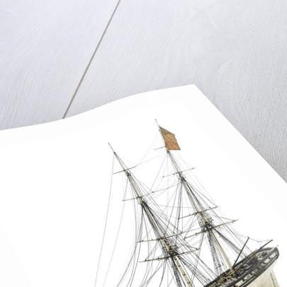 Brig Warship, 14 gun 'Joan D'Arc' (1800) by unknown