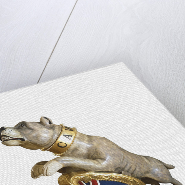 Figurehead from HMS 'Bulldog' by unknown