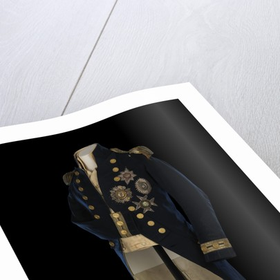 Royal Naval uniform: pattern 1795-1812, Nelson's Trafalgar coat by Anonymous