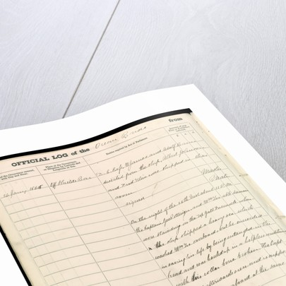 Logbook of the 'Ocean Bride' by unknown