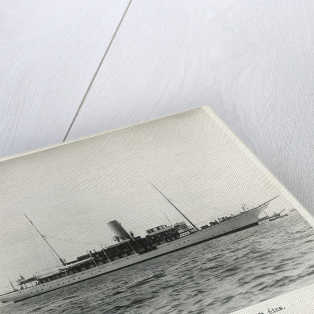 Photograph of S.Y Marynthea (1911) by H Gordon Selfridge