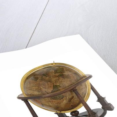 Terrestrial Globe by Gerard Mercator