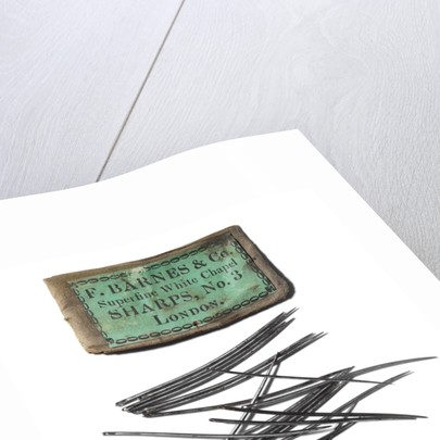 Packet of needles: Relic of Sir John Franklins last expedition 1845-48 by F. Barnes & Co.