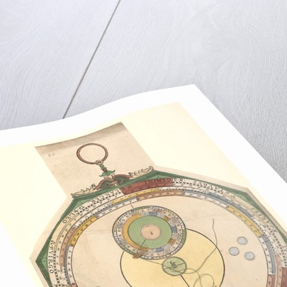 Volvelle giving the simplest way of determining the path of Venus along the ecliptic by Peter Apian