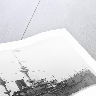 HMS 'Caesar' (1896), battleship by unknown