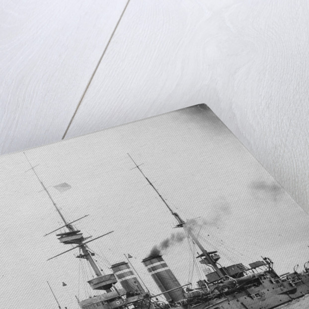 HMS 'Queen' (1902) battleship by unknown