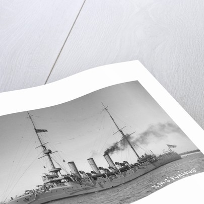 A port bow view of HMS 'Furious' (1896) by unknown