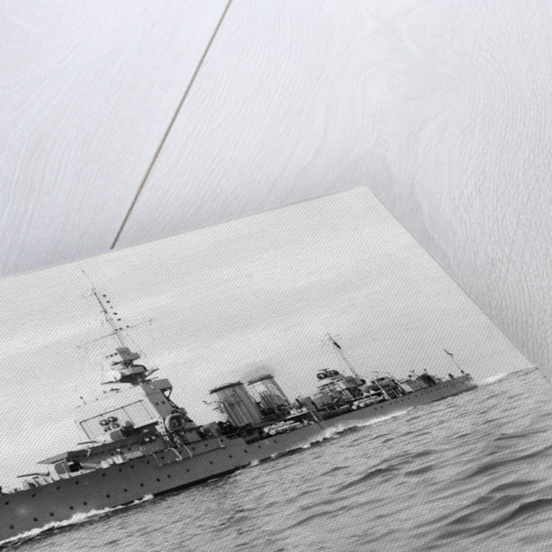 Light cruiser HMS 'Dauntless' (1918) by Anonymous