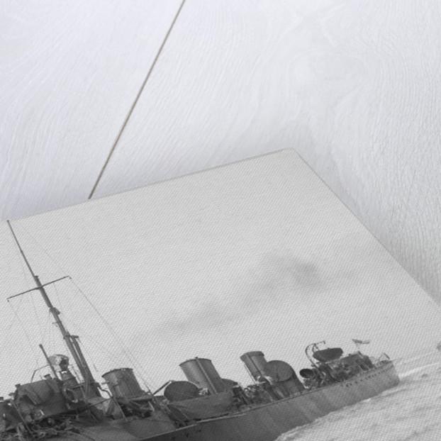 Torpedo boat destroyer, HMS 'FLIRT' (1897) by unknown